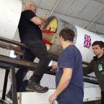 Starchaser team making technical adjustments