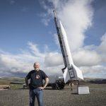 Starchaser's Steve Bennett with Skybolt 2