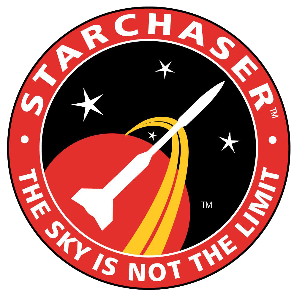 Starchaser Industries Ltd round patch logo