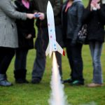Starchaser Space4Schools rocket demonstration