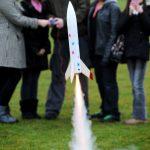 Starchaser Space4Schools rocket demonstration
